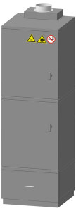 шкаф для хранения кислот, горючих и опасных веществ