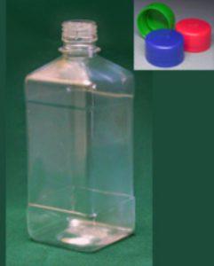 Бутылка квадратная 510 и 540 мл